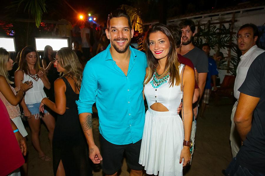 Felipe Pezzoni e Rossana Agnoletto (Foto: Divulgação)