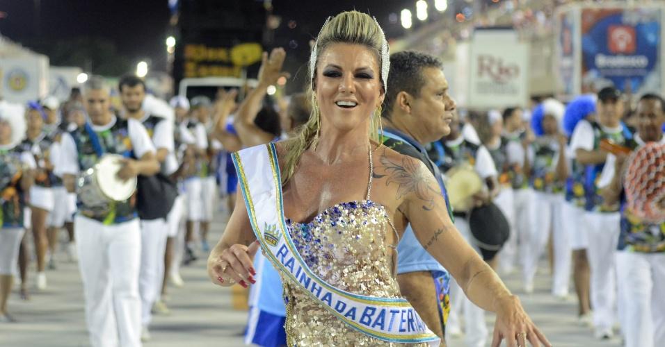 Elaine Ranzzato é nova rainha da Marques de sapucaí (Foto: Divulgação)