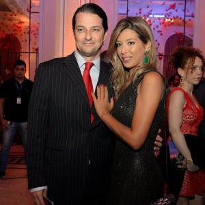 Marcelo Serrado e Roberta Fernandes (Foto: Léo Marinho)