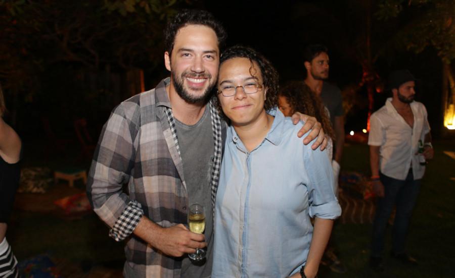 João Vancini e Maria Gadú (Foto: Divulgação)