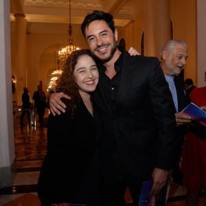 Débora Lamm e Ricardo Tozzi  (Foto: Léo Marinho)