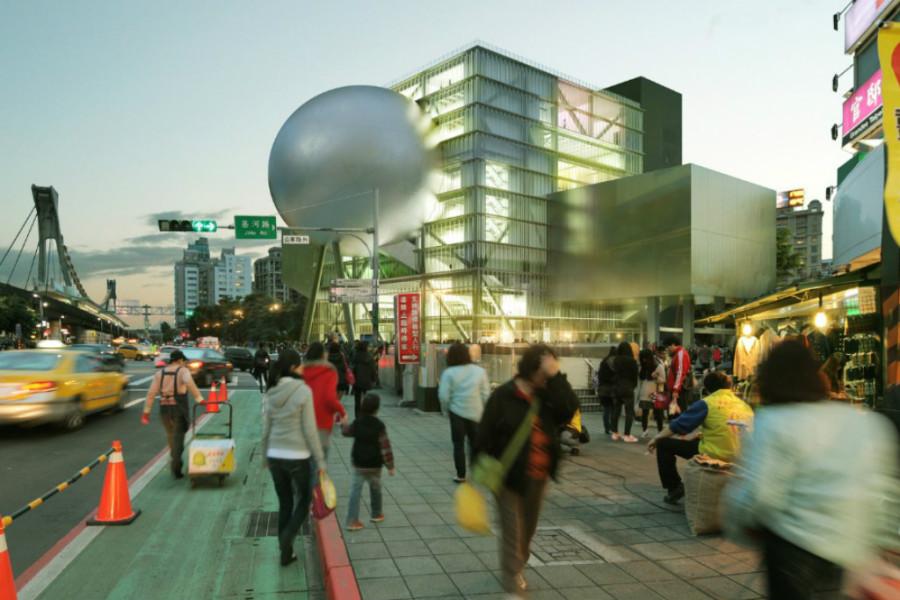 Centro de Artes Performáticas OMA, Taiwan (Foto: Divulgação)