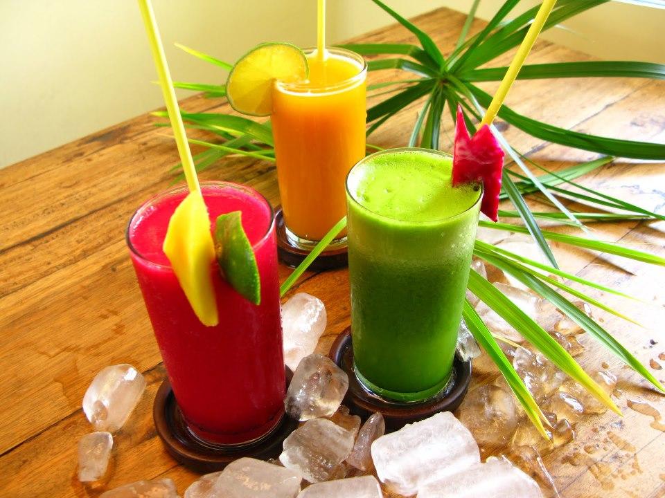 Suco com base de melancia possuí diversas vitaminas, inclusive as do complexo B (Foto: Divulgação)