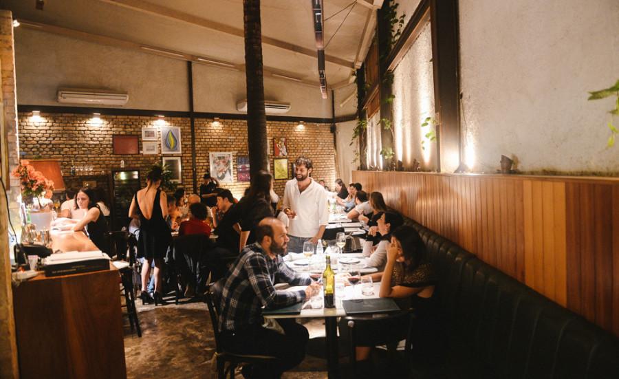 Restaurante José cheio na noite de jazz (Foto: Divulgação)