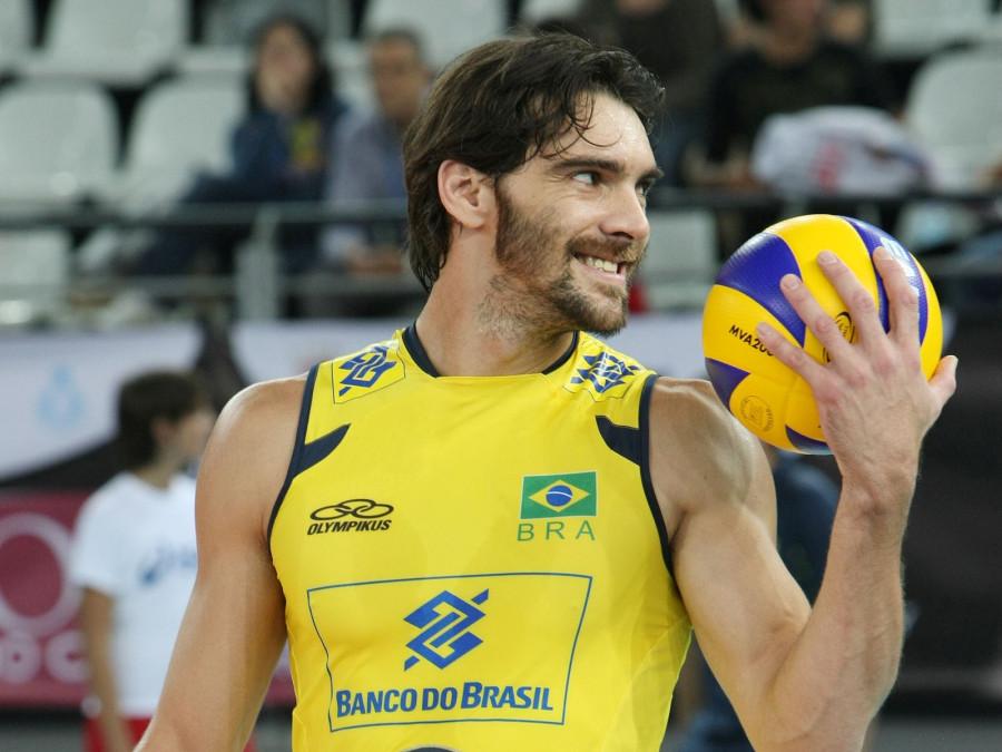 Atletas brasileiros, como o jogador Giba serão homenageados no evento (Foto: Divulgação)