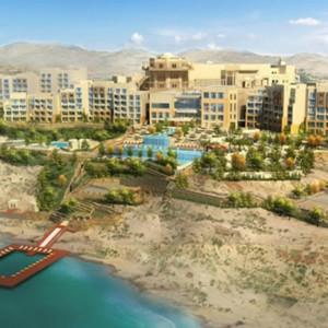 Hilton Dead Sea Resort and Spa, Vale Jordan, Oriente Médio (Foto: Divulgação)