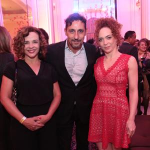Luciana Braga, Tuca Andrada e Laila Garin (Foto: Reginaldo Teixeira)