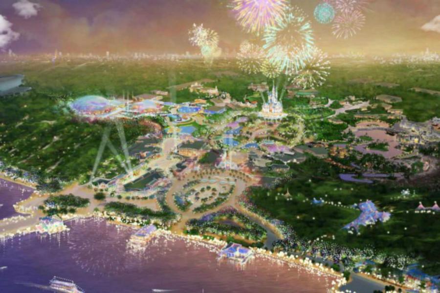 Shanghai Disneyland Resort, Xangai, China (Foto: Divulgação)