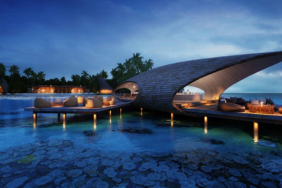 The St. Regis Maldives Vommuli Resort, Vommuli, Ilhas Maldivas (Foto: Divulgação)