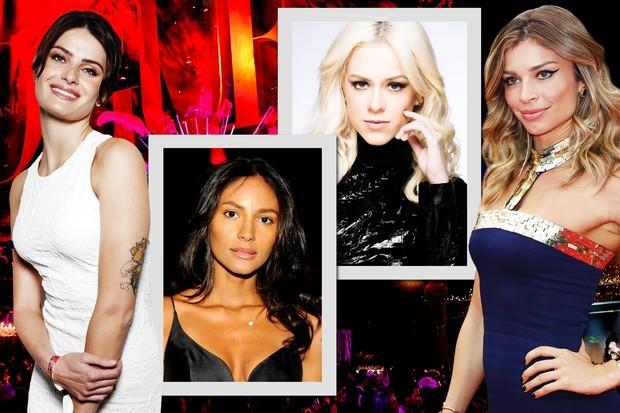 As musas do Baile de Carnaval da Vogue 2016: Emanuela de Paula, Sophia Abraão, Isabeli Fontana e Grazi Massafera, todas embaixadoras brasileiras da L'Oreal Paris (Foto: Divulgação)