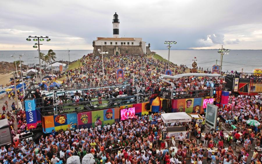 Carnaval Salvador - Farol da Barra (Foto: Divulgação)