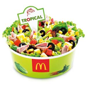 Salada tropical  (Foto: Divulgação)