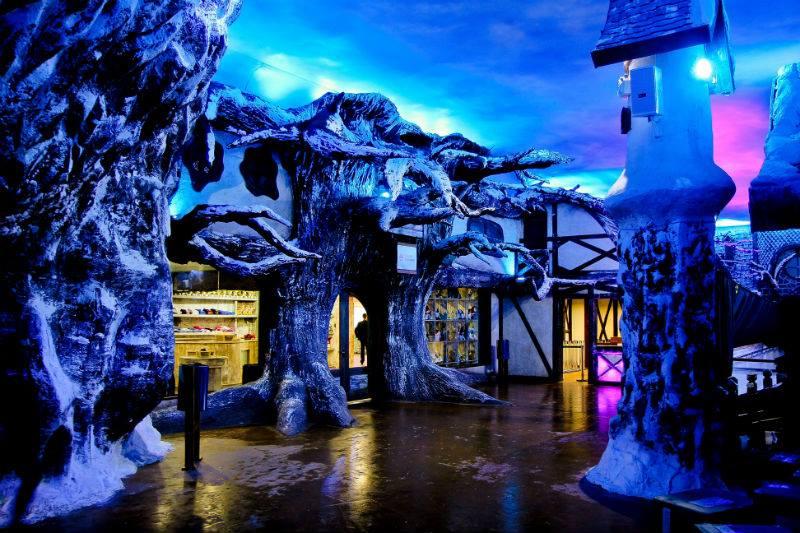 Snowland Gramado: espaço possui 16 mil metros quadrados (Foto: Divulgação)