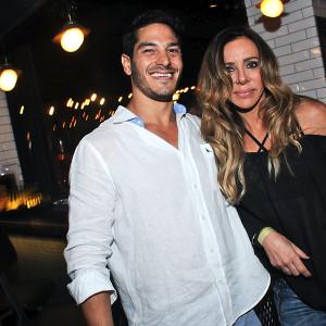 Ricardo Laham e Cris Arcangeli (Foto: Bruna Guerra)