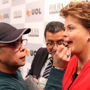 kamura e Dilma (foto: divulgação)