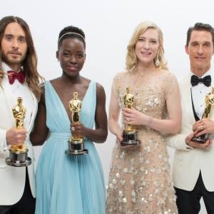Cate Blanchett, Jared Leto, Matthew McConaughey e Lupita Nyong'o (Foto: Divulgação)