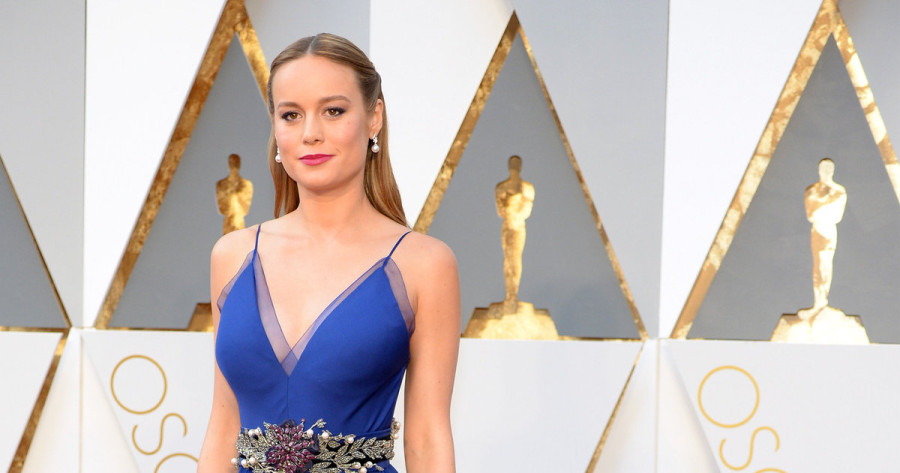 Brie Larson usa vestido Gucci (Foto: Divulgação)