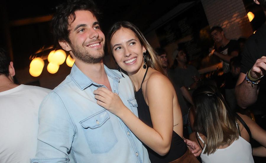 Dimitri Ribeiro e Maria Fernanda Castro (Foto: Bruna Guerra)
