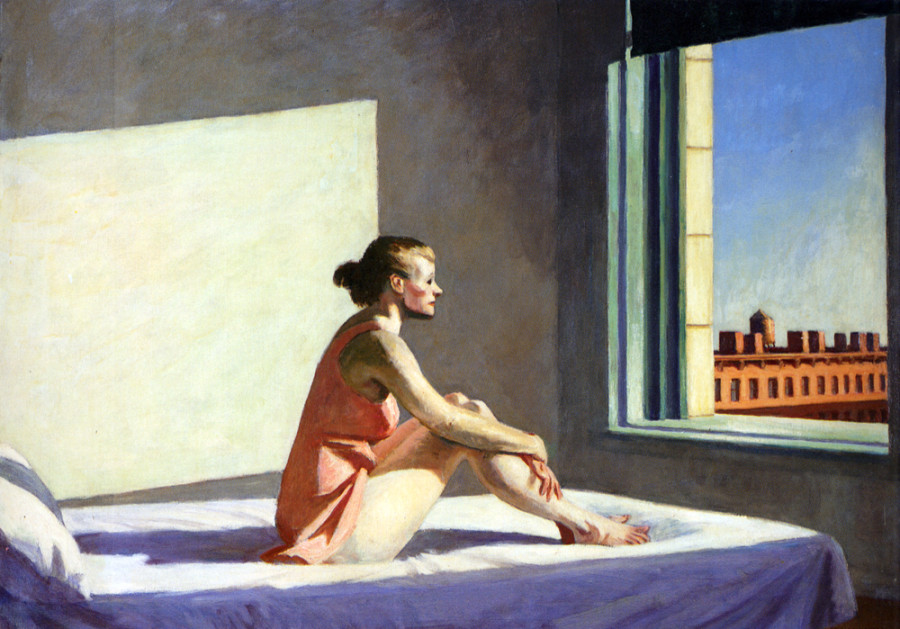 Morning Sun de Edward Hopper inspirador da campanha (foto: divulgação)