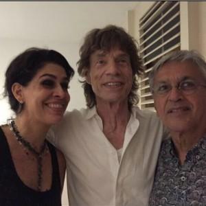Paula, Jagger e Caetano (foto: divulgação)