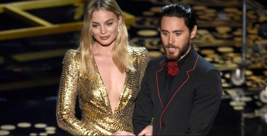 Margot Robbie e Jared Leto apresentam Oscar de melhor maquiagem (Foto: Divulgação)
