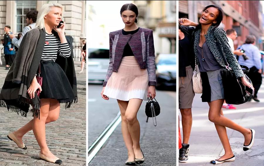 Para as mais românticas e elegantes, sapatilha! (Foto: Divulgação)