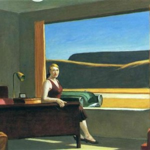 Western Motel de Edward Hopper (foto: divulgação)