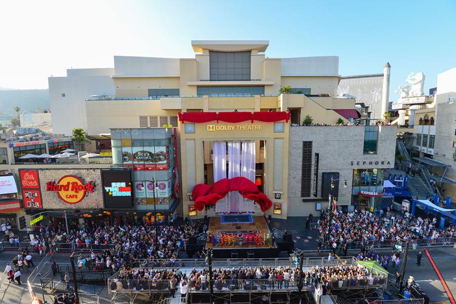 Vista para o Folby Theatre em Los Angeles (foto: divulgação)