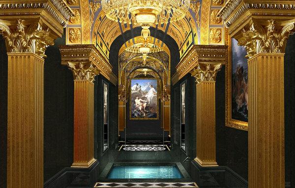 hotel é inspirado em castelo francês 9foto: divulgação)