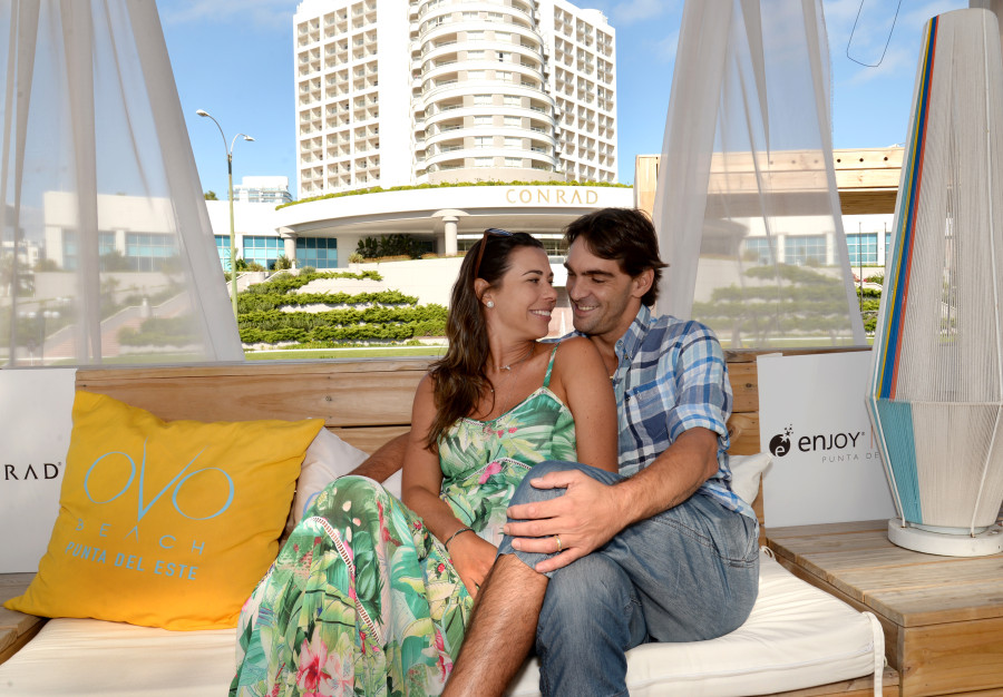 Giba e a esposa Maria Luiza Daudt (foto: divulgação)