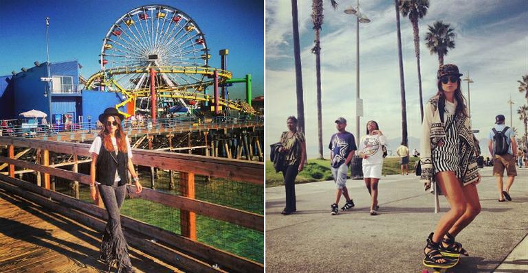 Thaila Ayala de férias em Los Angeles (foto: reprodução/instagram)