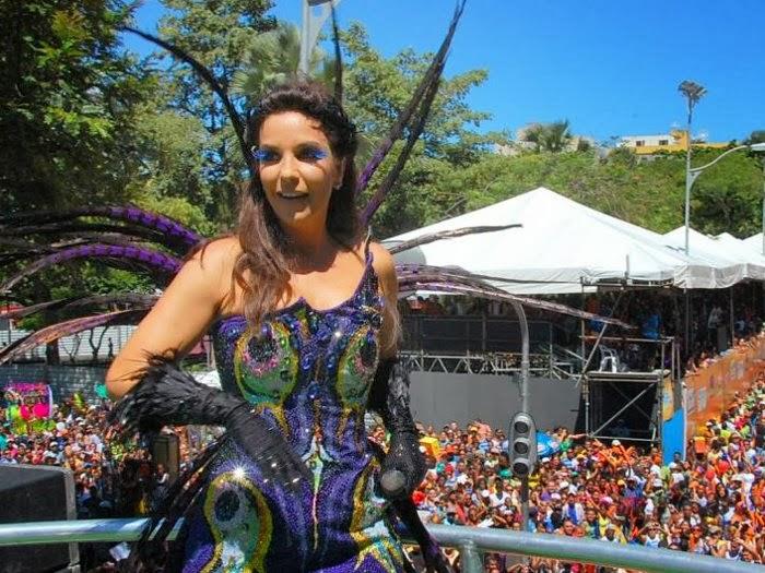 Ivete Sangalo é a musa dos trios (foto: divulgação)