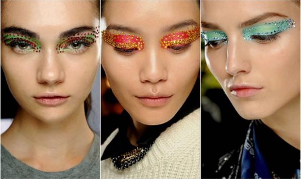 Olhos multicoloridos é aposta (Foto: Divulgação)