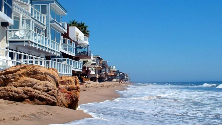 Malibu Beach - parte da praia é privada (foto: divulgação)