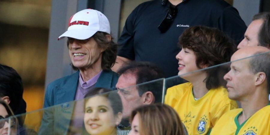 Mick e Lucas Jagger (foto: divulgação)