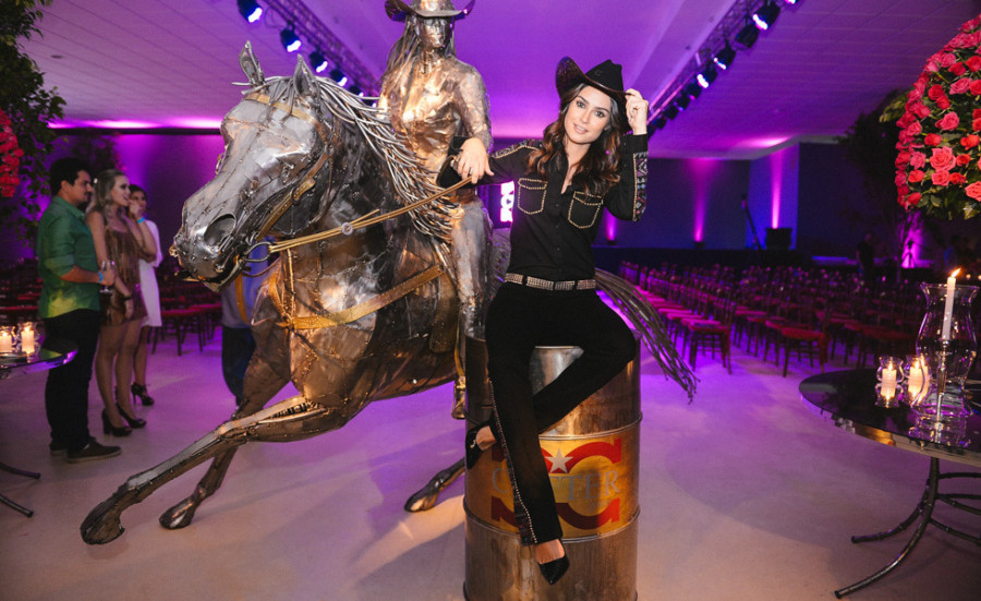 Thaila Ayala em estilo country (foto: divulgação)