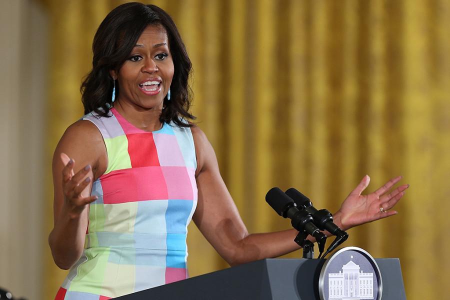 Michelle Obama, é a 10ª mulher mais poderosa do mundo (foto: divulgação)