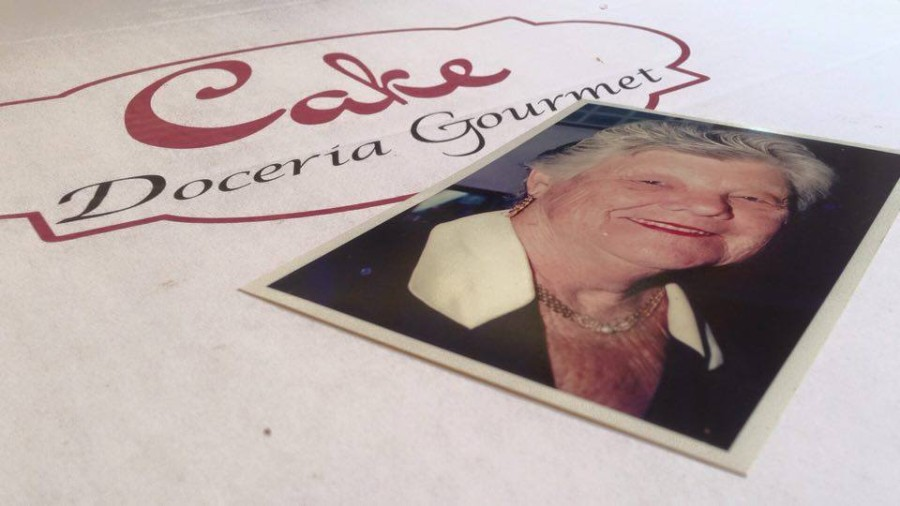 Dona Elaine, deixou livro de receitas que inspira empresárias (foto: divulgação)