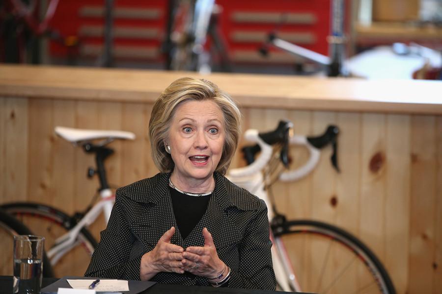 Hillary Clinton é a segunda mulher mais poderosa do mundo (foto: divulgação)