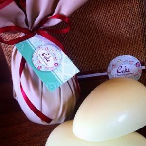 ovo de páscoa embrulhado em tecido (Foto: Divulgação)