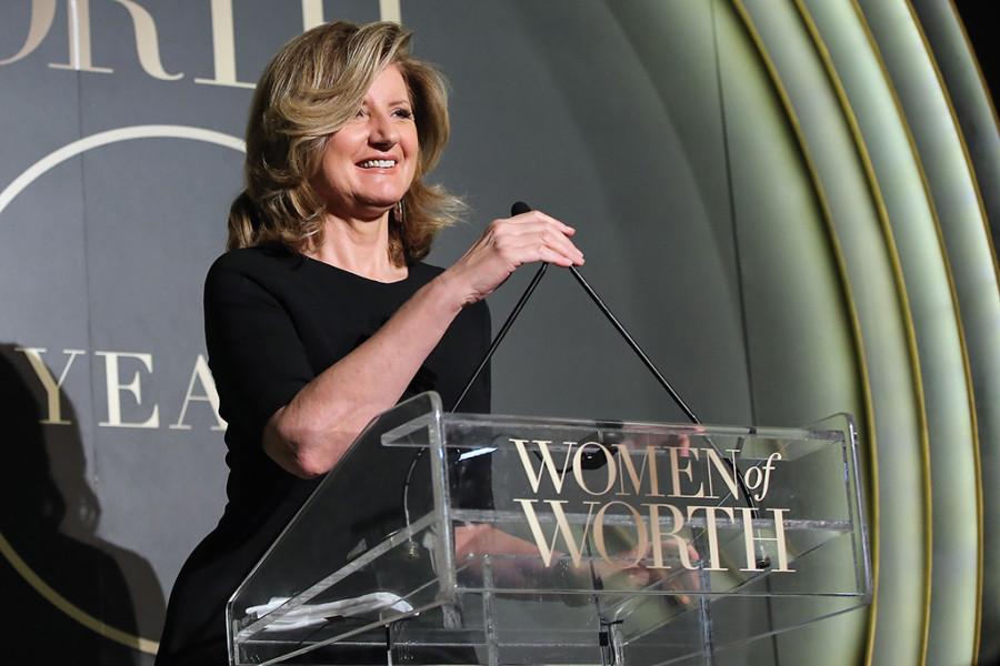 Arianna Huffington, cofundadora do jornal Huffington Post (foto: divulgação)
