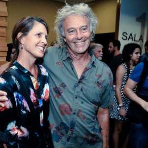 Sybilla e Carlos Motta (Foto: Paulo Freitas)