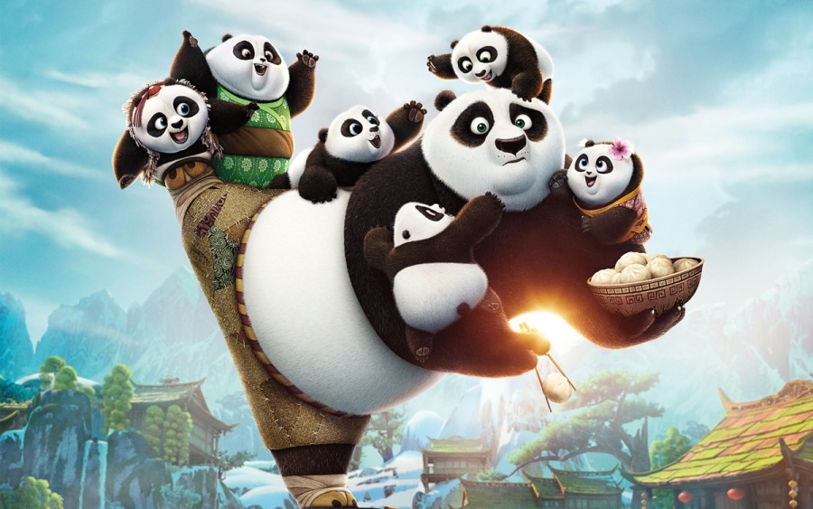 Cena de Kung Fu Panda 3 (foto: divulgação)