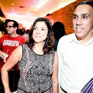 Andrea Barata Ribeiro e Marcio Fraccaroli (Foto: Paulo Freitas)