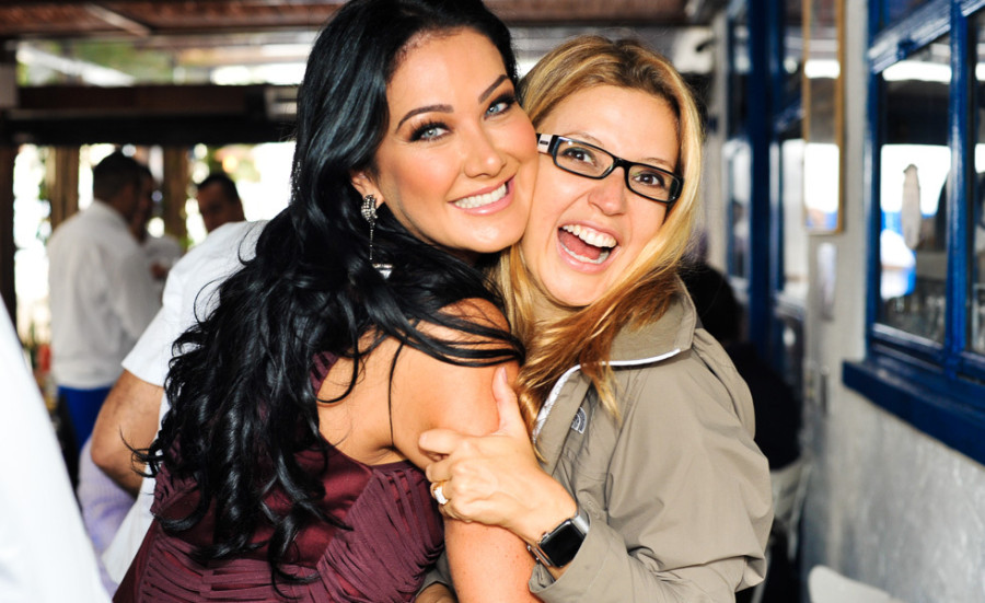 Hellen Ganzarolli e Patricia de Sabrit (foto: divulgação)