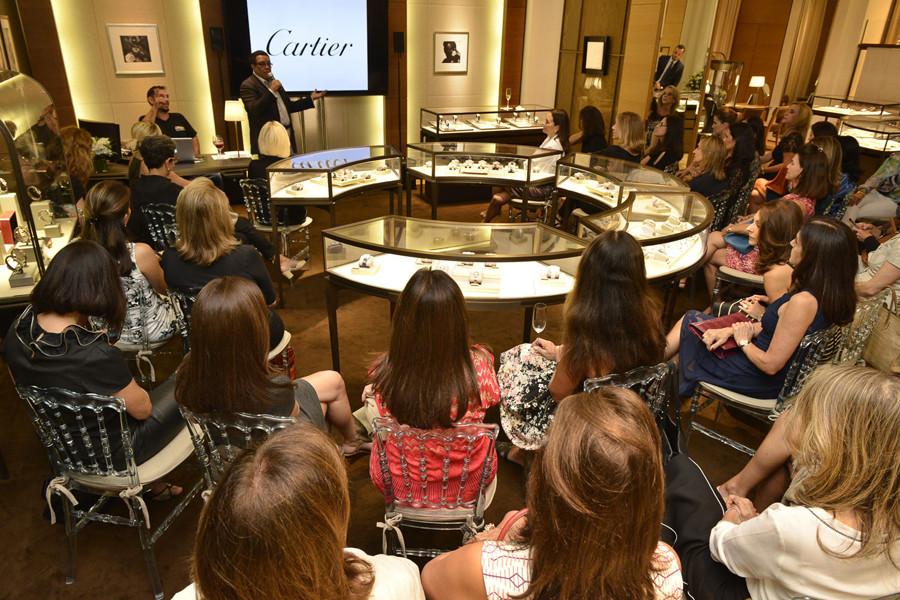 A palestra para os convidados  (Foto: João Sal)