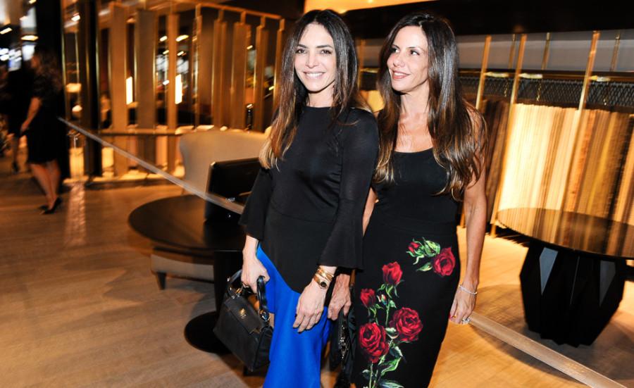 Raquel Silveira e Rita Valladares  (Foto: Paulo Freitas)