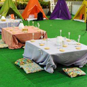 A mesa de atividades  (Foto: divulgação)