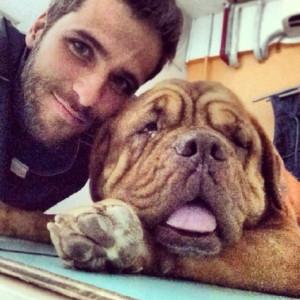 Bruno Gagliasso e pet (Foto: Divulgação)