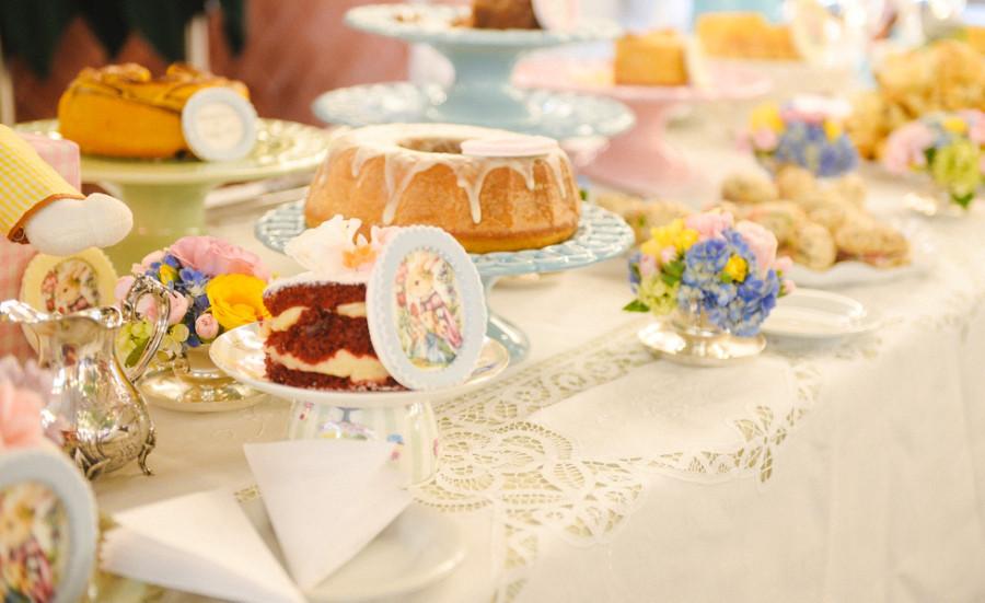 Detalhe da mesa do chá da tarde (foto: divulgação)
